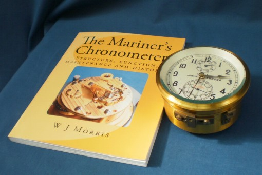 """The Mariner's Chronometer"" alongside an MX6 chronometer"