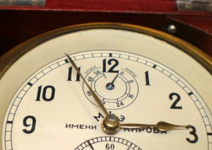 Figure 6 : Chronometer fully wound.