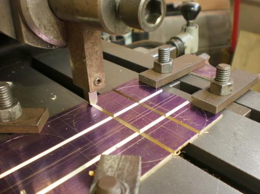 Figure 4: Machining grooves.
