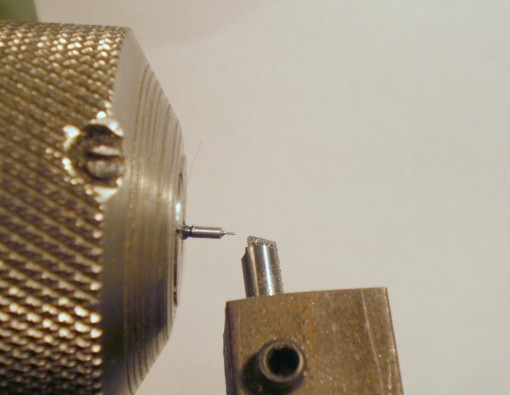 Figure 2: Finish turning muff.