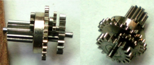 Figure 12: Planetary gear cluster.