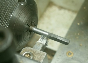Figure 4: Turning down to 3 mm.