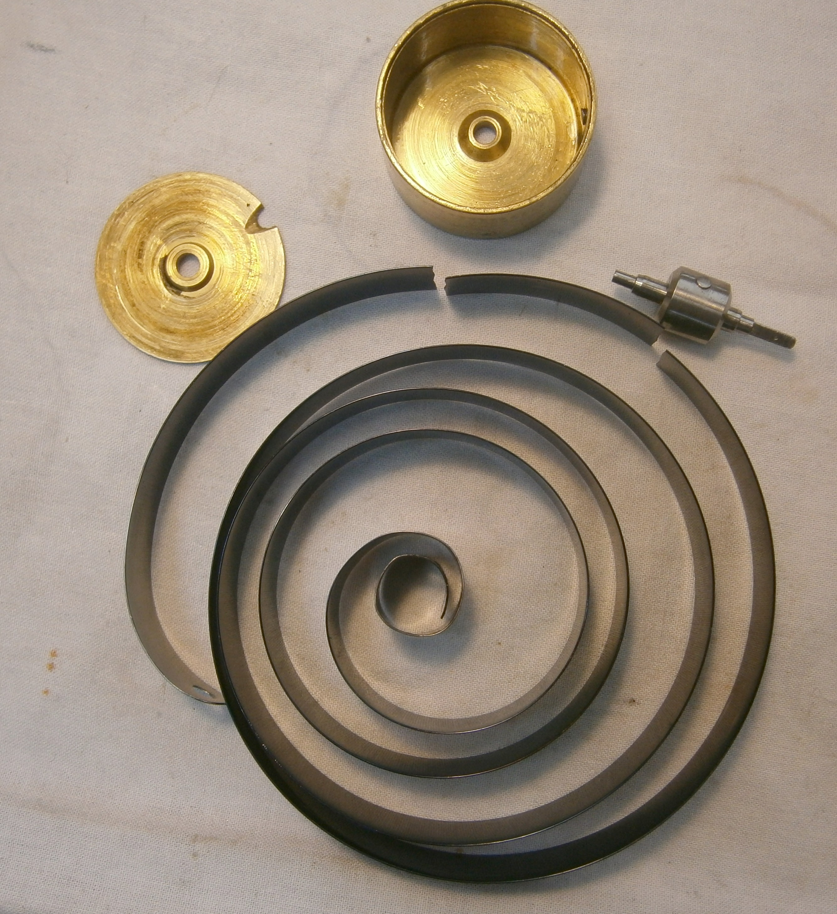 Broken mainspring